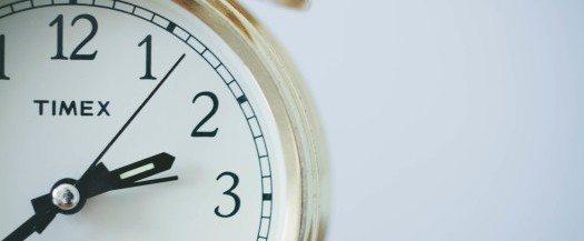 4 speedread gold clock