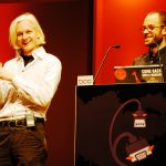 Julian Assange and Daniel Bomscheit-Berg