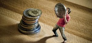 Man Holding Coin