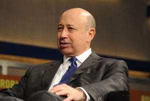NEW YORK, NY - MAY 07:  Lloyd Blankfein, Chairman and CEO, Goldman Sachs Group, Inc. speaks at the Robin Hood Veterans Summit at Intrepid Sea-Air-Space Museum on May 7, 2012 in New York City.  (Photo by Craig Barritt/Getty Images for The Robin Hood Foundation)